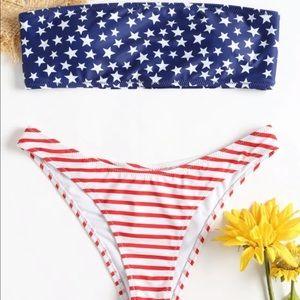ZAFUL American Flag Swimsuit